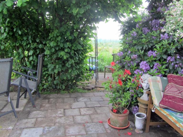 4. Pittoreske plekjes in Dorrits weelderige tuin